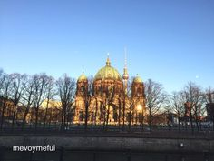 #Berlin #Cathedral #Germany #Travel #mevoymefui --> check out my 3-day itinerary by clicking through or visiting www.mevoymefui.wordpress.com