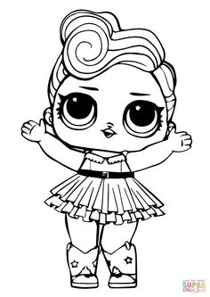 Colring Pages For Kids Lol Doll Luxe Coloring Page Free Printable Coloring Pages Rainbow Coloring Pages Nature Coloring Pages Cute Printable Baby Unicorn Coloring Pages Kids Unicorn Coloring Pages, Easy Coloring Pages, Cat Coloring Page, Coloring Pages For Girls, Animal Coloring Pages, Coloring Pages To Print, Coloring For Kids, Coloring Books, Coloring Worksheets