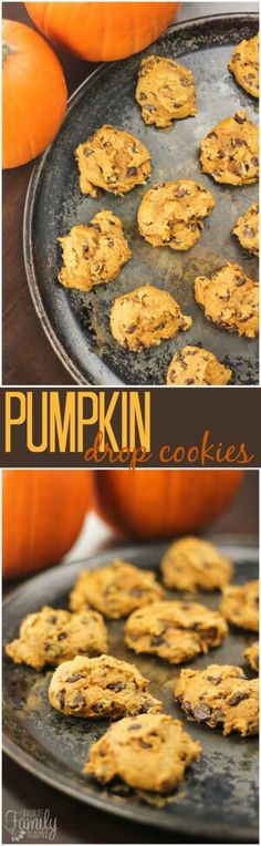 With only 3 ingredients, these Pumpkin Drop Cookiesare quick and easy to make. They are moist and full of delicious (and healthy!) pumpkin. #pumpkincookies #pumpkinrecipe