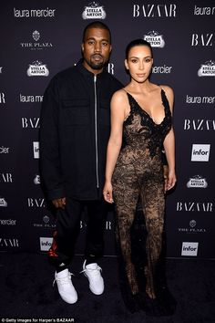 Intruder: Kim and Kanye's Bel Air home was targeted by a thief who broke into the grounds of their property in the early hours of Friday morning (pictured September 2016)