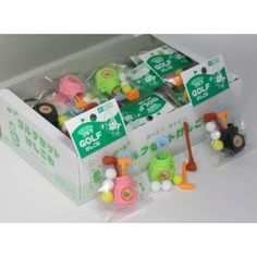 33cd36c8 Amazon.com: Authentic Japan Iwako Puzzle Eraser Take Apart Put Together Golf  Club and Ball, 3 Sets of Different Colors Erasers: Toys & Games