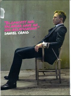 Daniel Craig, clothed, yes please.  This man wears clothes better than anyone ever.
