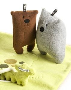 by pucc sweetwear adorable plush toy bears and other animals simple designs easy to recreate