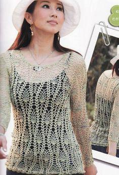 0192 - пуловери, джемпери - В'язання для жінок - Каталог статей - Md.Crochet