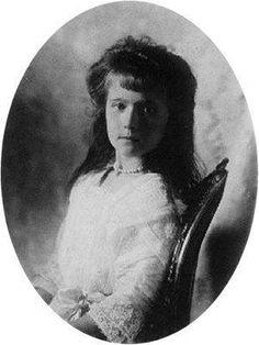 Her Imperial Highness Grand Duchess Anastasia Nikolaevna. Daughter of Nicholas II & Alexandra. Lived 1901-1918. Murdered by the Bolsheviks.