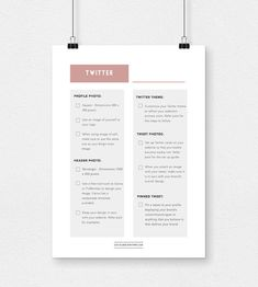 Social Media Branding 101 Part Two – Learn how to best represent your biz + blog (a.k.a. your brand) via Twitter. Download your FREE Twitter Branding Checklist. | http://socialmediawithpb.com