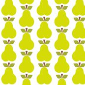 Pear_Rpt fabric by aliceapple, click to purchase