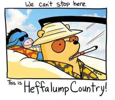 Fear and loathing in the Hundred Acre Wood