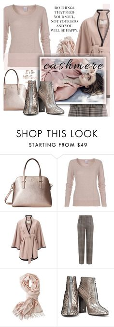 """Cozy Cashmere  Sweater"" by samketina ❤ liked on Polyvore featuring Kate Spade, Jacques Vert, 3.1 Phillip Lim, Mark & Graham, Kerr®, Tom Ford and cashmere"