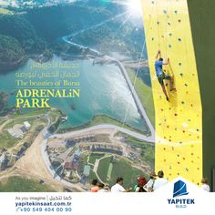 The Adrenalin Park In Gursu With An Area Of 30 000 M Was Designed To Meet The Social And Activity Needs Of Youth And Adrenalin Enth Park Instagram Ziplining
