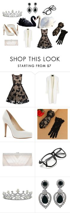 """Queen of contrasts"" by racheldenisnefeke ❤ liked on Polyvore featuring Alexander Wang, Jessica Simpson, GCGme and Ciner"