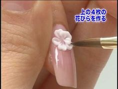 Advance Japan Nail Art Lesson Part 3  I absolutely love the second part of the video LOVE IT!:)♥