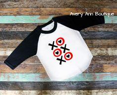 Kids Valentines Day, Xoxo Shirt T-Shirt Raglan Shirt Kids Raglan Kid Shirt Toddler Boys Raglan Girls Raglan Valentines Shirt by AveryAnnBoutique on Etsy