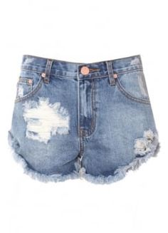 Discover Our Collection of Alternative Jeans at Attitude Clothing. Attitude, Denim Shorts, Clothes For Women, Blue, Collection, Clothing, Style, Fashion, Outfits