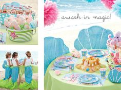 magical mermaid party by Chasing Butterflies BEST KID STORE EVERRRRR