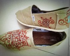 painting toms shoes ideas - Google Search