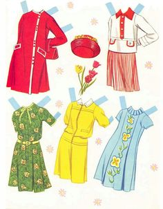 The Paper Collector: Pretty Belles Cut Out Dolls Barbie Paper Dolls, Paper Dolls Book, Vintage Paper Dolls, Missing Missy, Label Paper, Vintage Ephemera, Free Paper, Doll Toys, Doll Clothes