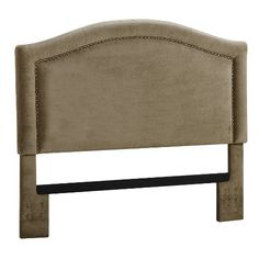 Dorel Asia Upholstered Headboard with Nailheads, King, Stone Dorel Asia http://www.amazon.com/dp/B00KD5T9LI/ref=cm_sw_r_pi_dp_OtpFvb0E6YNWH