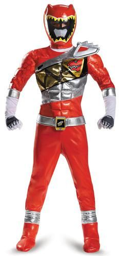red costumes ranger Adult power