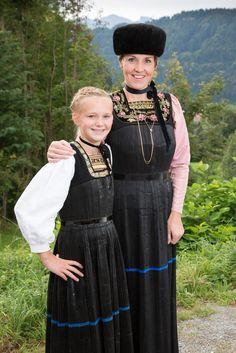 Bregenzerwälder Tracht - Tourismus Schwarzenberg