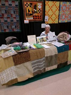 Sleeping bag project My Brothers Keeper display WSU quilt show