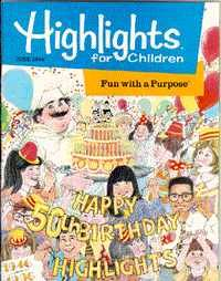 Highlights had a subscription back in the day  my favorite thing was the hidden drawings where you had to locate items :)