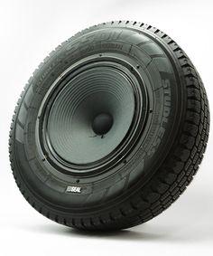 Seal-Recycled-Tire-Speaker-1.jpg (500×600)