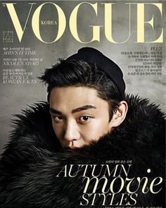 Yoo Ah In is the first male actor to grace the covers of Vogue for its October issue. Though Lee Byung Hyun, Hyun Bin, and G-Dragon have posed for the front cover in the past, they had partners with them as well. Yoo Ah In is the first to break the stereotype of a female model front cover for a fash...