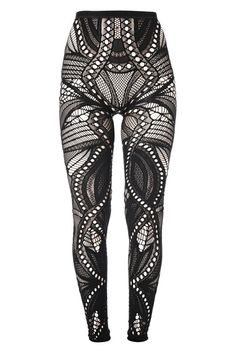 French Connection Lace Leggings - Wonder if I can still pull this off at age 30.