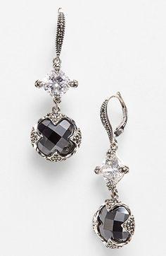 Gorgeous drop earrings in #grey http://rstyle.me/n/fymy4nyg6