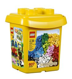 Amazon.com: LEGO Bricks & More 10662 Creative Bucket: Toys & Games - Addy