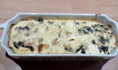 Cake thon épinard façon cheesecake