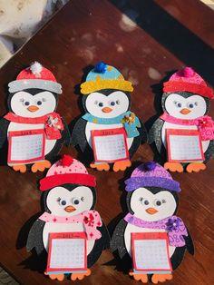 2019 penguen takvimimiz,her sayfası rengarenk;) - Happy Christmas - Noel 2020 ideas-Happy New Year-Christmas Toy Storage Solutions, Diy Toy Storage, Diy For Kids, Crafts For Kids, Valentine Day Crafts, Valentines, Layered Drinks, Animal Art Projects, Viking Tattoo Design