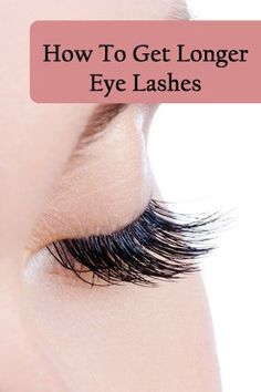 To give our eyelashes that dramatic look, we either use mascara or fake eyelashes. But for how long ladies? Why don't we venture into some natural ways and solutions to grow long eyelashes