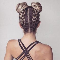 Braided Hairstyles for Long Hair hair tutorial video Pretty Braided Hairstyles, Cool Hairstyles, Braid Hairstyles, Hairstyle Ideas, Latest Hairstyles, Hairstyle Tutorials, Hairstyles Haircuts, Hairstyles For The Gym, Braided Updo