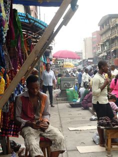Open-Air Market. Lagos, Nigeria.