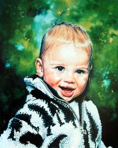 Child Watercolor Portrait Commission