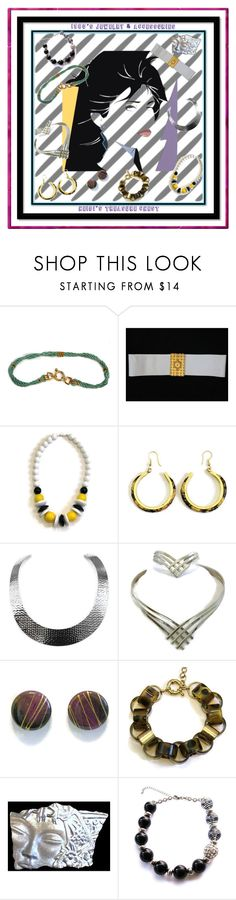 """1980's Jewelry & Accessories"" by heidi-calamia-galati ❤ liked on Polyvore featuring vintage"