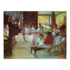 The Dance Class, By Edgar Degas, French Impressionist Painting, Oil On Canvas. Scene With Young Ballerinas At The Paris Opera House Poster Print Edgar Degas, Degas Ballerina, Edouard Manet, Pierre Auguste Renoir, National Gallery Of Art, Art Gallery, Ballerine Degas, Degas Dancers, Ballet Dancers