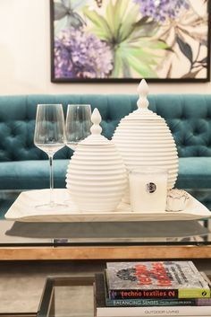 Great Living | Opulent: Cleans Your Coloured Furniture With White Coffee Table  Accessories Like Trays, Nice Look