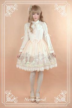 Neverland Lolita (SuffleSong) -Angel Serenade- Lolita Jumper Dress