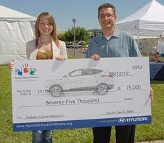 UC Davis Comprehensive Cancer Center receives $75,000 to support pediatric cancer research from Hyundai Hope on Wheels