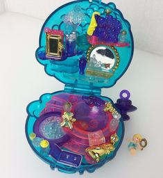 Vintage Polly Pocket Bubbly Bath Bubble Spa Original Doll 1996 #Bluebird