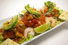 Ceviche Trio Mexican Food Recipes, Ethnic Recipes, Ceviche, Bruschetta, Mexico, Mexican Recipes