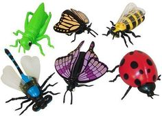 Fun Express Educational Products - Vinyl Insect Finger Puppets - Includes 12 assorted vinyl insect finger puppets, http://www.amazon.com/dp/B00407S11Y/ref=cm_sw_r_pi_awdm_NzASub0TY99MY