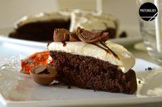 Protein chocolate orange fudge cake
