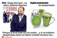 ¿Qué le regalarías a Diego Serrano, el personaje de Antonio Resines en Los Serrano?