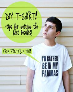 Know and Tell Crafts: DIY T-SHIRT!