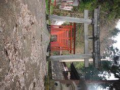 高山城山公園の稲荷神社  2012.4.25