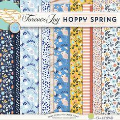 HOPPY SPRING paper pack